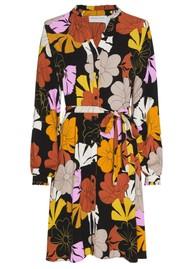 FABIENNE CHAPOT Dorien Frill Dress - Retro Flower