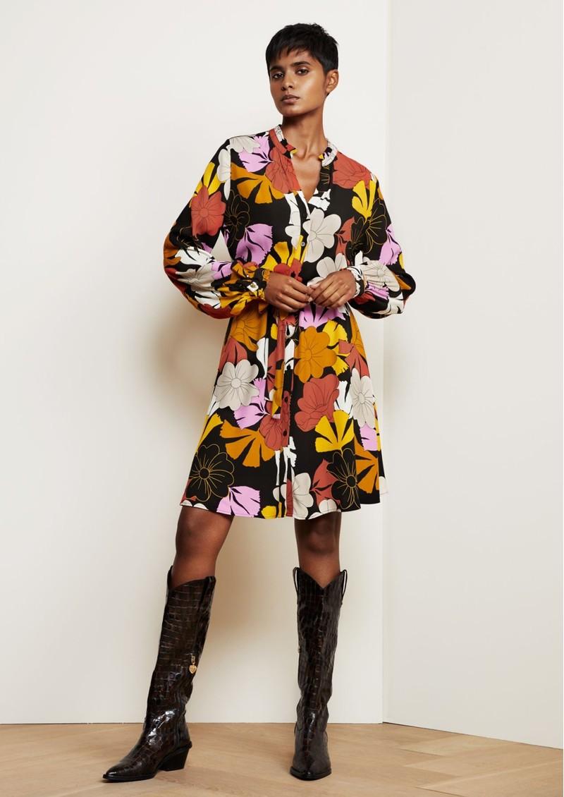 FABIENNE CHAPOT Dorien Frill Dress - Retro Flower main image