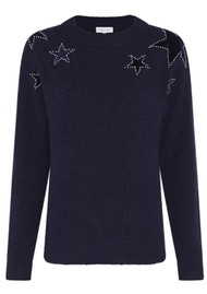 FABIENNE CHAPOT Star Pullover - Navy