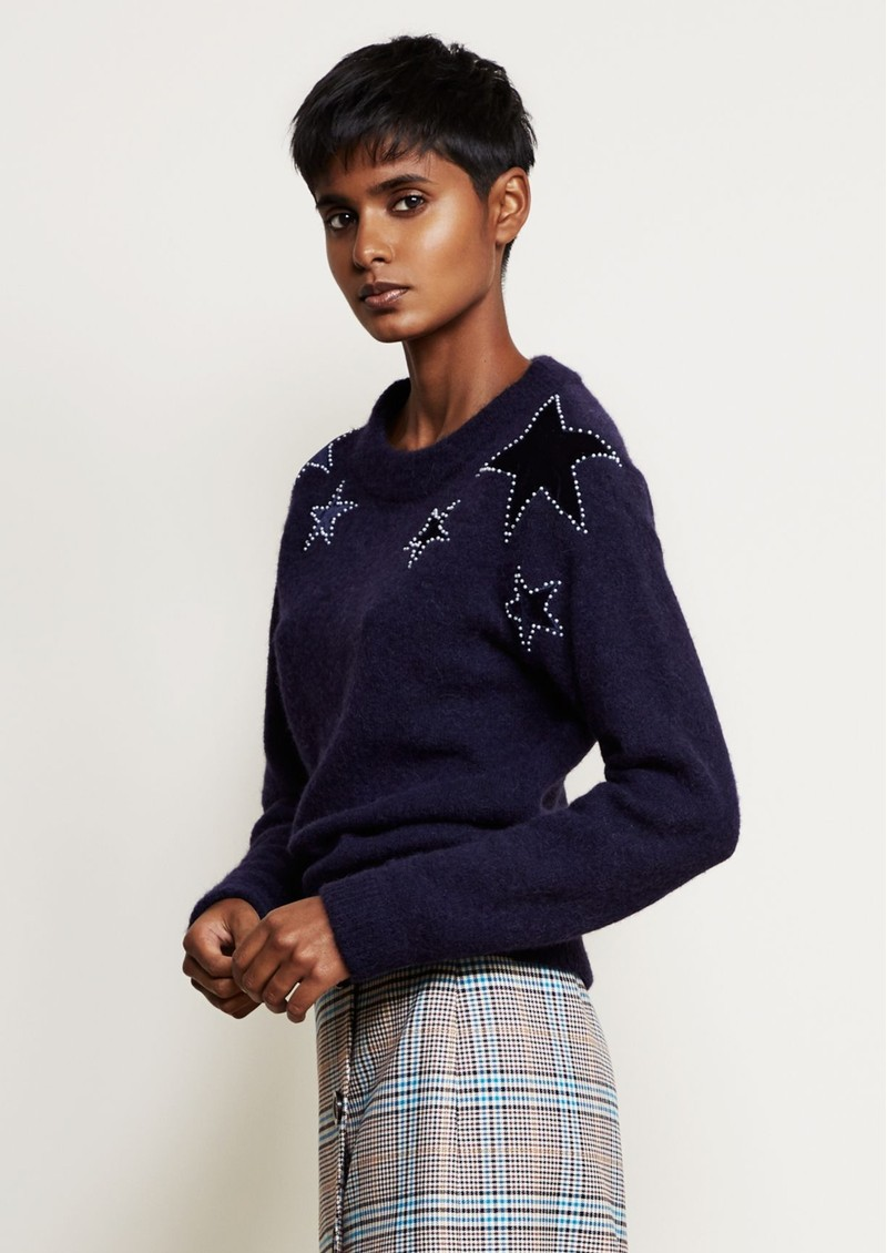 FABIENNE CHAPOT Star Pullover - Navy main image