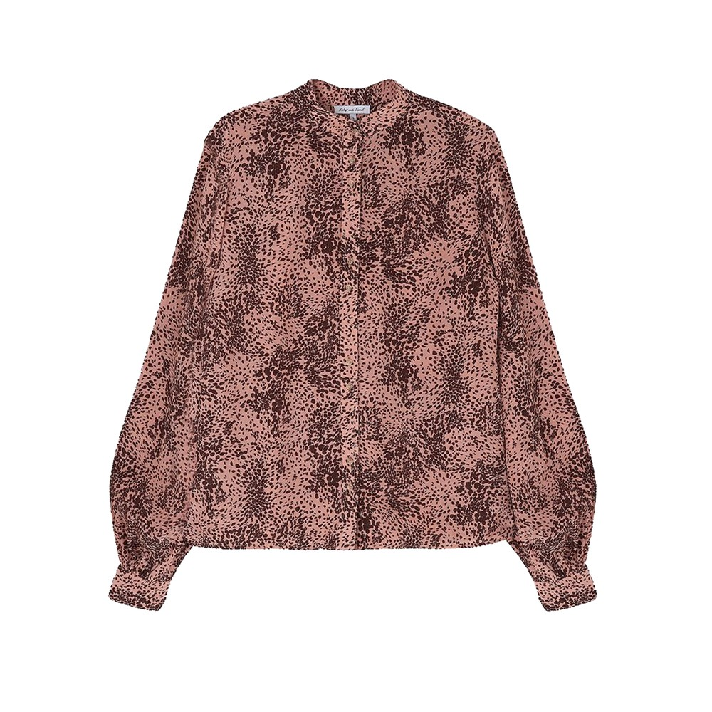 Harlowe Blouse - Painted Leopard