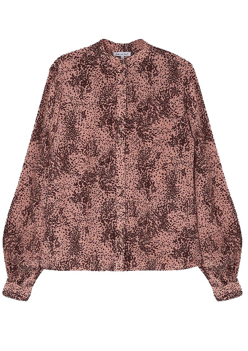 Lily and Lionel Harlowe Blouse - Painted Leopard main image