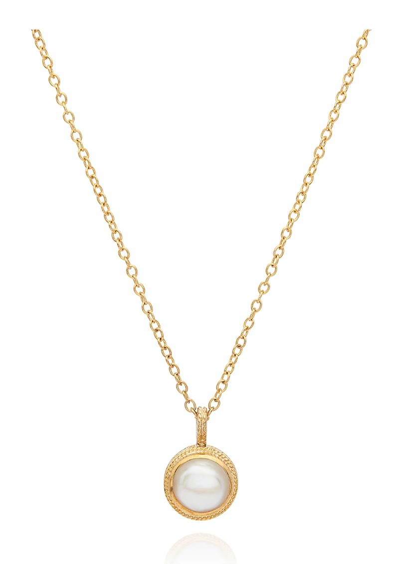 ANNA BECK Reimagined Pearl Small Pendant Necklace - Gold main image