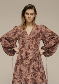 Lily and Lionel Fifi Dress - Painted Leopard