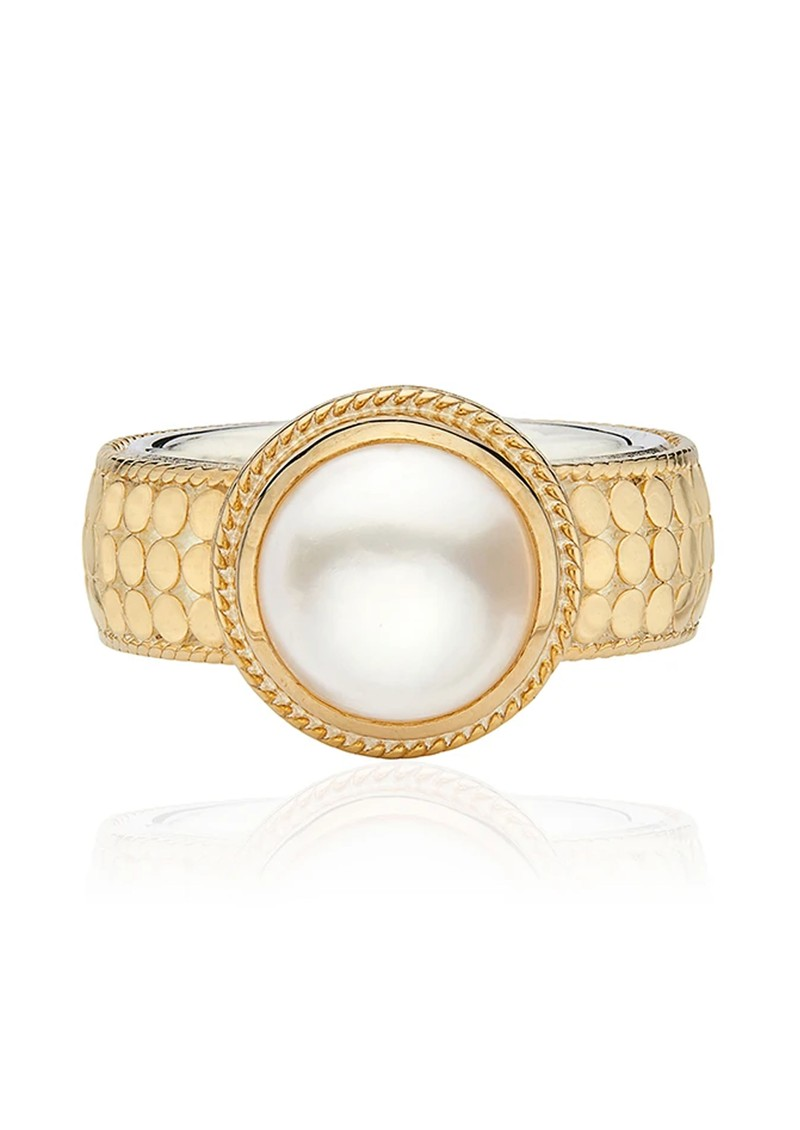 ANNA BECK Reimagined Pearl Cocktail Ring - Gold main image
