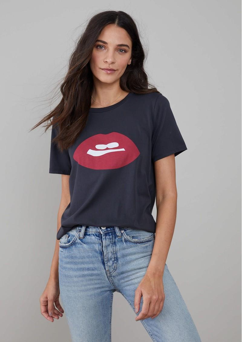 SOUTH PARADE Lola Lips T-shirt - Black main image