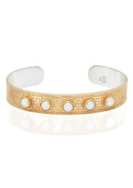 ANNA BECK Reimagined Pearl Large Cuff - Gold