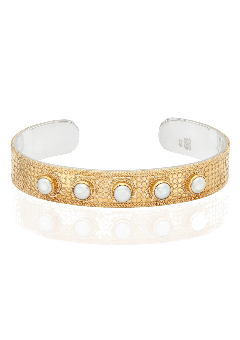 ANNA BECK Reimagined Pearl Large Cuff - Gold main image