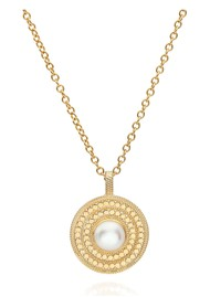 ANNA BECK Reimagined Pearl Medium Pearl Pendant Necklace - Gold