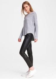 RAG & BONE The Knit Long Sleeve T-Shirt - Light Grey
