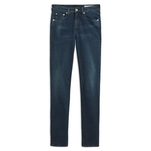Cate Mid Rise Ankle Skinny Jeans - Tiger Lily