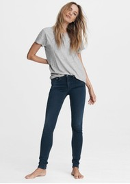 RAG & BONE Cate Mid Rise Ankle Skinny Jeans - Tiger Lily