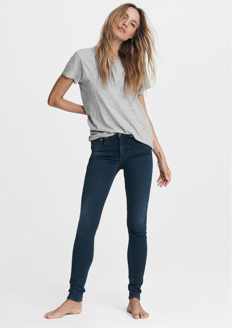 RAG & BONE Cate Mid Rise Ankle Skinny Jeans - Tiger Lily main image
