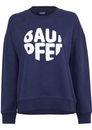 BAUM UND PFERDGARTEN Jaala Sweatshirt - Evening Blue