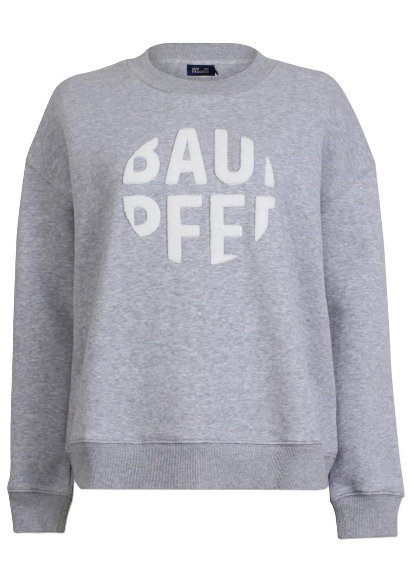 BAUM UND PFERDGARTEN Jaala Sweatshirt - Grey Melange main image