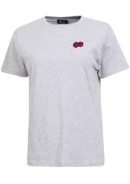 BAUM UND PFERDGARTEN Juna T-Shirt - Grey Melange