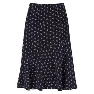 Lottie Skirt - Tuxedo Black