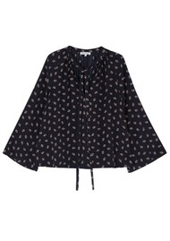 Lily and Lionel Etta Top - Tuxedo Black