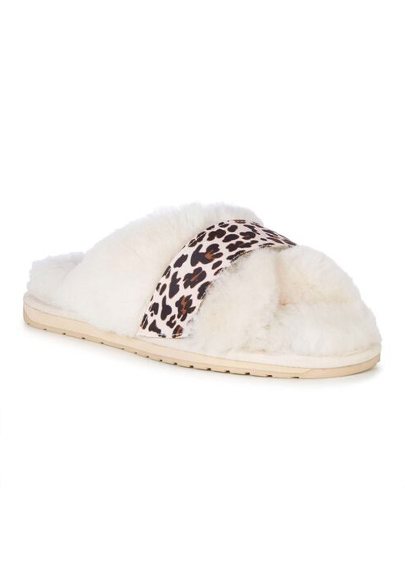 EMU Elphick Animal Sheepskin Slippers - Natural main image