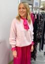 Ellie Silk Dress - Pink additional image