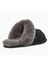 UGG Scuffette II Slippers - Black & Grey