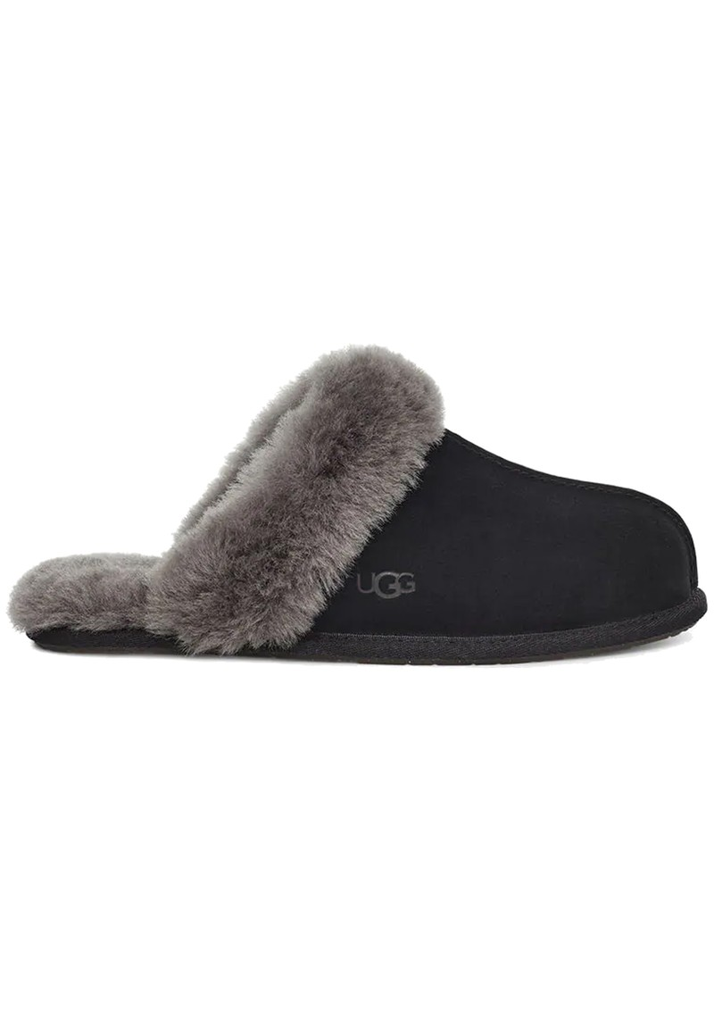 UGG Scuffette II Slippers - Black & Grey main image