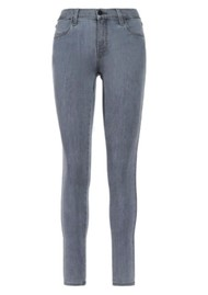 J Brand Sophia Mid Rise Super Skinny Eco Wash Jeans - Neutral