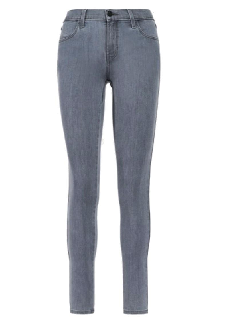 J Brand Sophia Mid Rise Super Skinny Eco Wash Jeans - Neutral main image