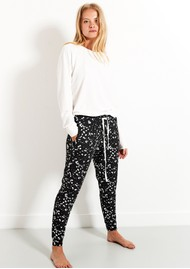 STRIPE & STARE Lounge Pant - Constellation