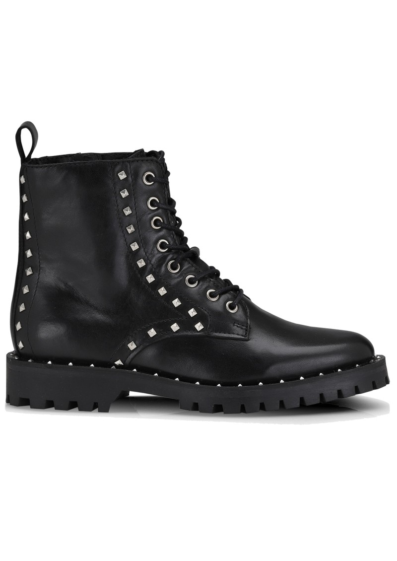 Naella Studded Leather Boots - Black main image