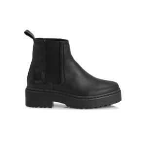 Belize Leather Chelsea Boots - Black