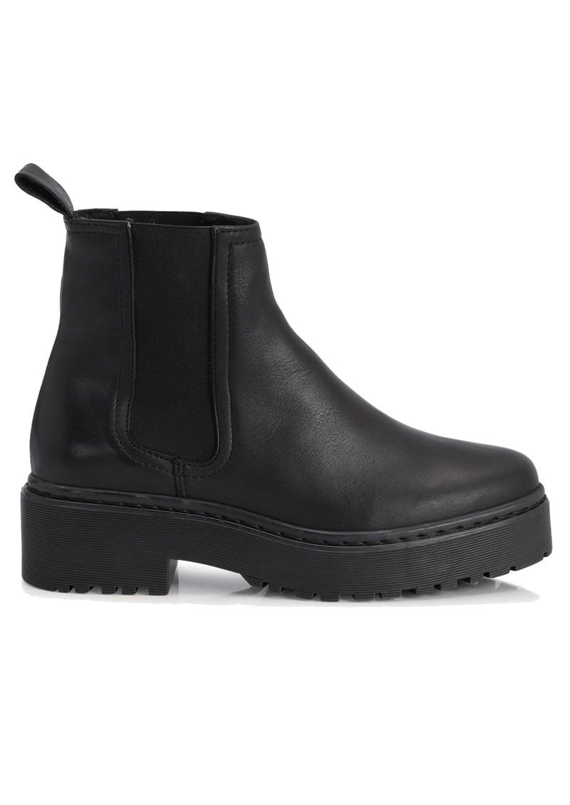 SHOE BIZ COPENHAGEN Belize Leather Chelsea Boots - Black main image
