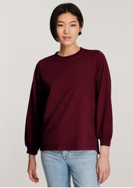 J Brand Erma Relaxed Long Sleeve Tee - Courant