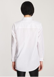 J Brand Palmer Relaxed Cotton Shirt - White