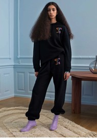 STINE GOYA Zaza Organic Cotton Tracksuit Bottoms - House of Goya