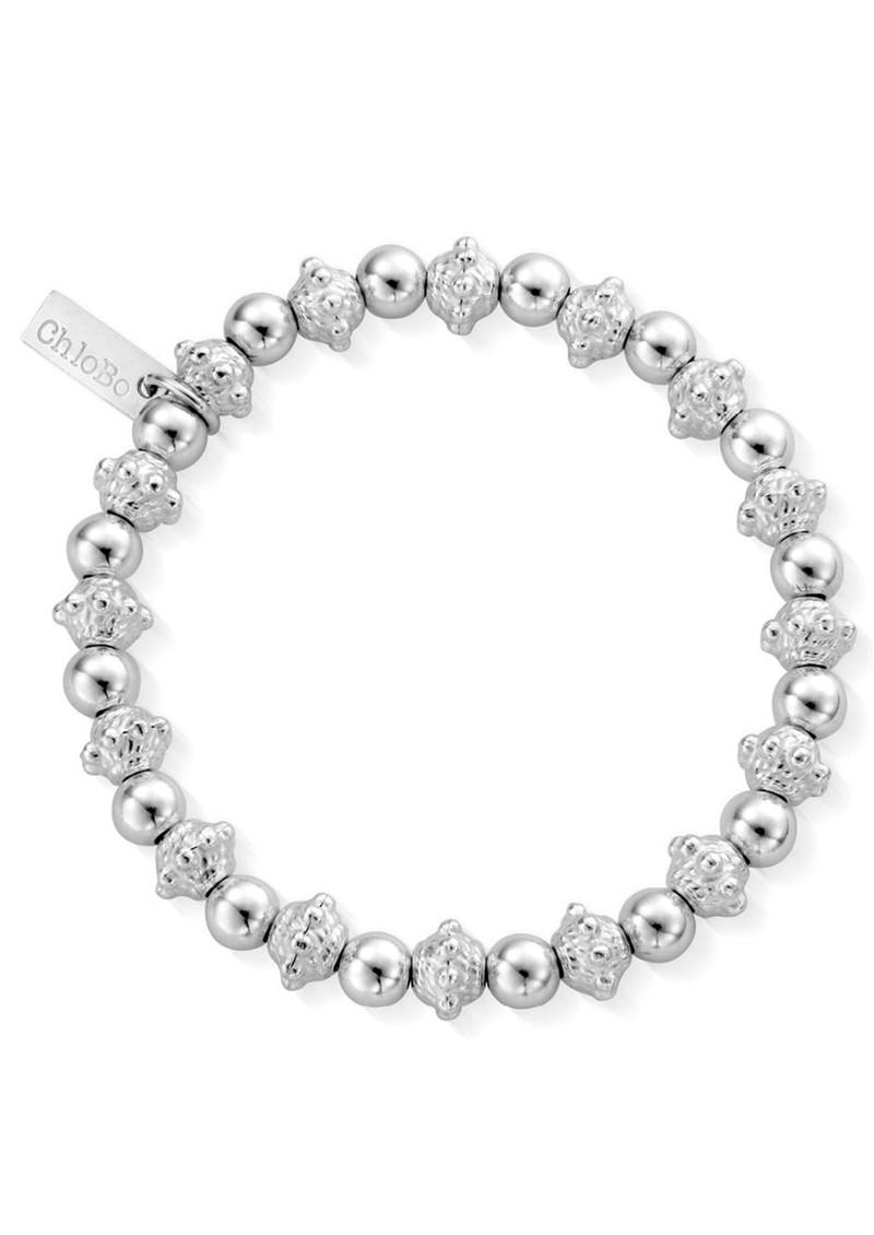 ChloBo Fearless Bead Bracelet - Silver main image
