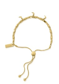 ChloBo Triple Moon Adjuster Bracelet - Gold