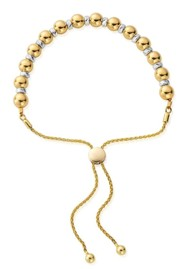 ChloBo Sparkle Ball Adjuster Bracelet - Gold & Silver