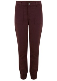 J Brand Arkin Zip Ankle Jogger - Courant