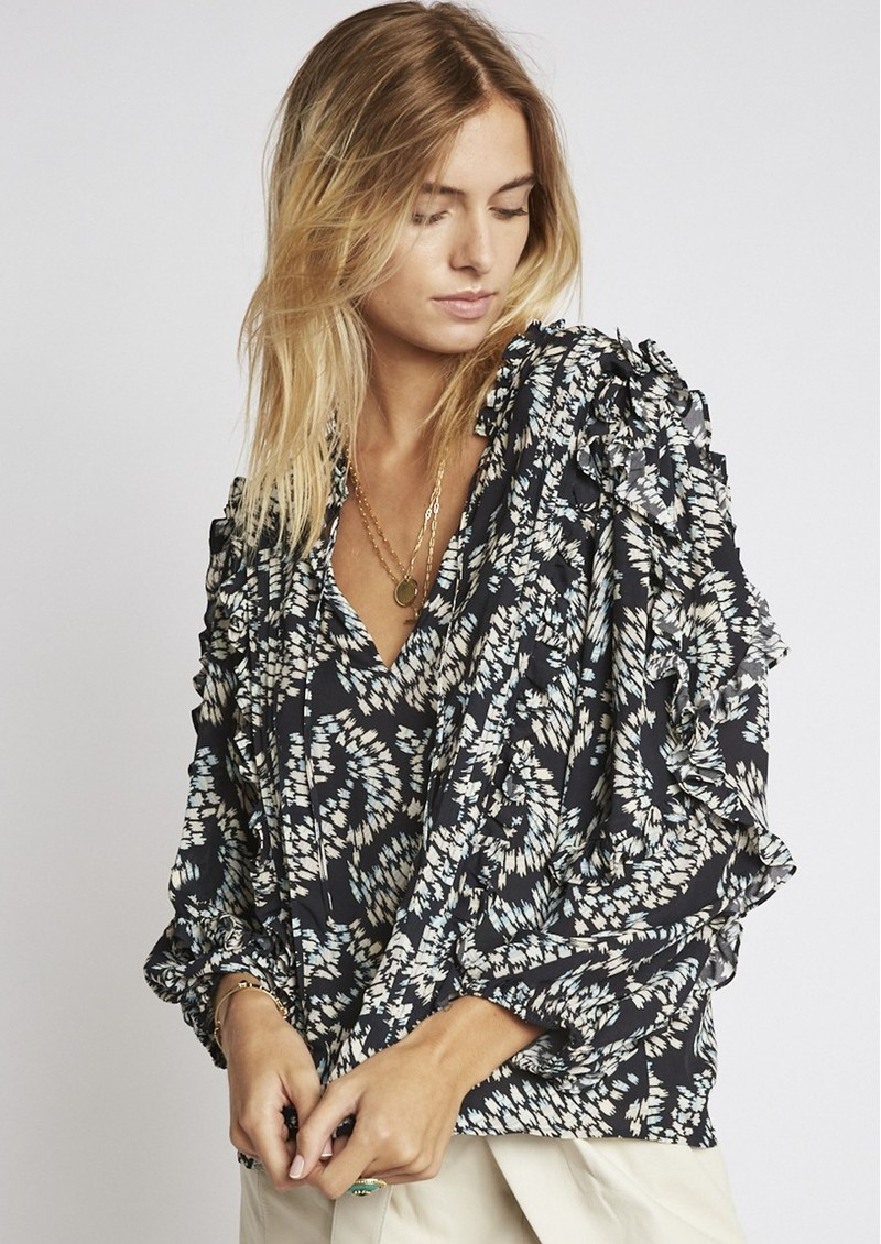 BERENICE Timotee Printed Blouse - Oxygen main image