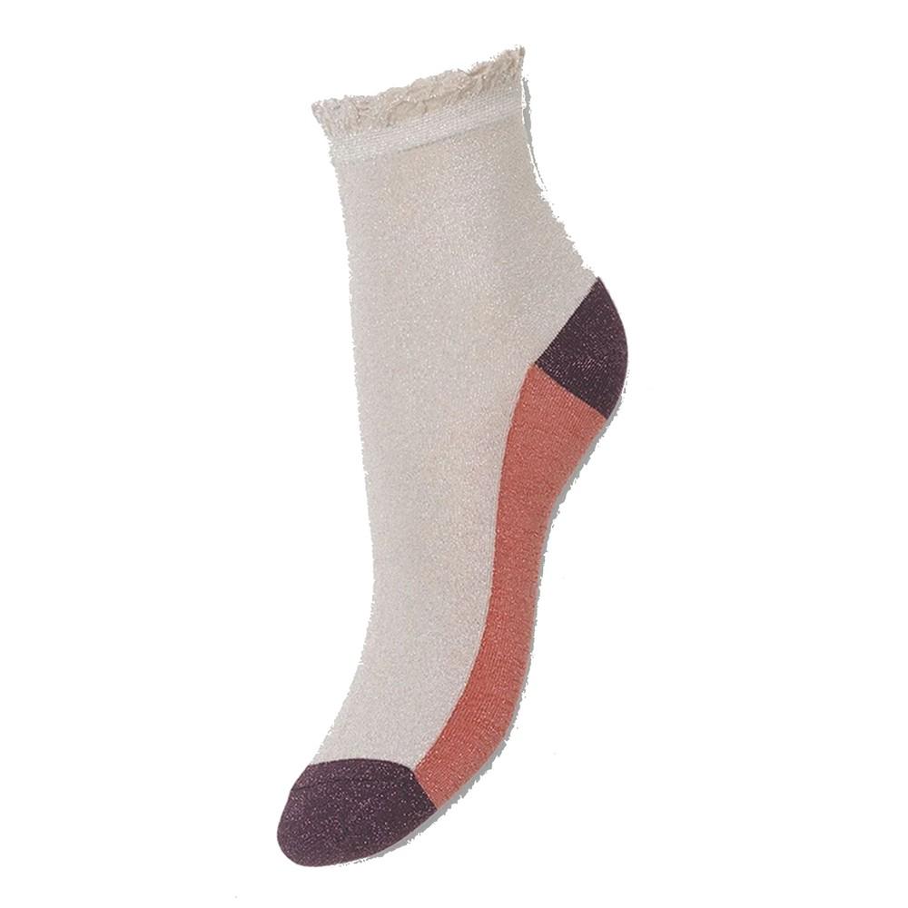 Blocka Glam Socks - Silver Grey
