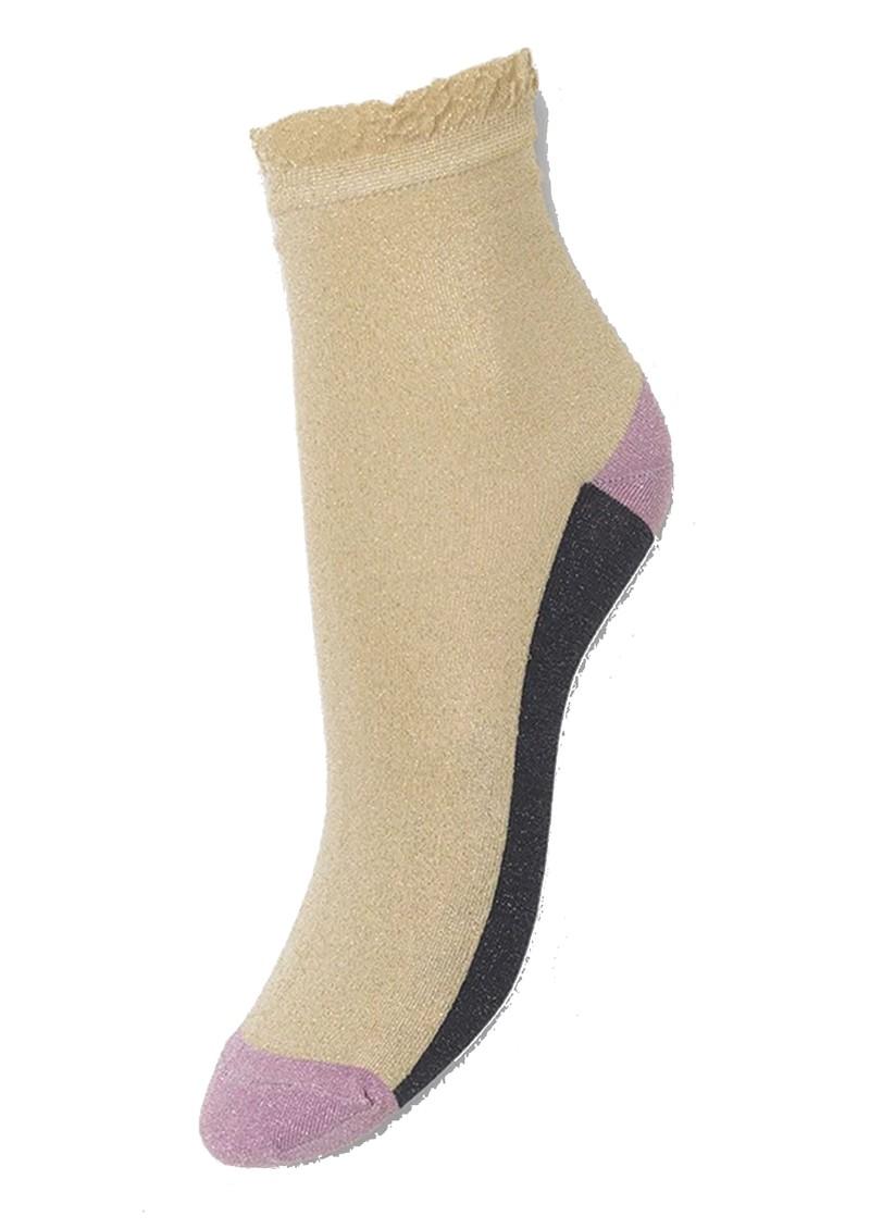 Becksondergaard Blocka Glam Socks - Sandstone main image