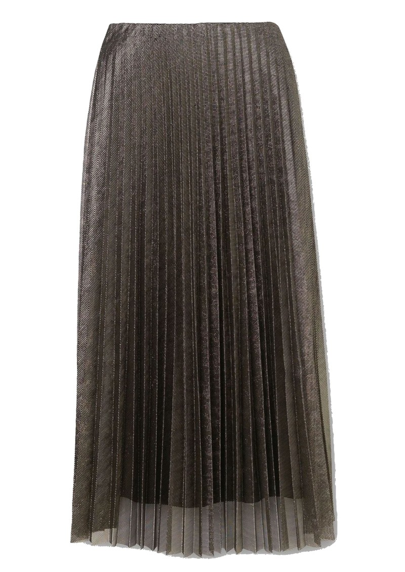 Becksondergaard Amy Pleated Skirt - Gold main image