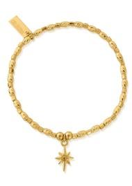 ChloBo Soul Glow Lucky Star Bracelet - Gold