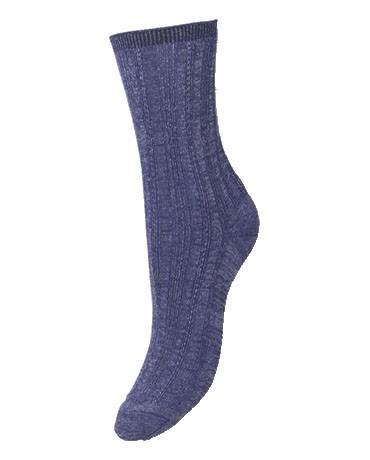 Becksondergaard Glitter Drake Socks - Royal Blue main image