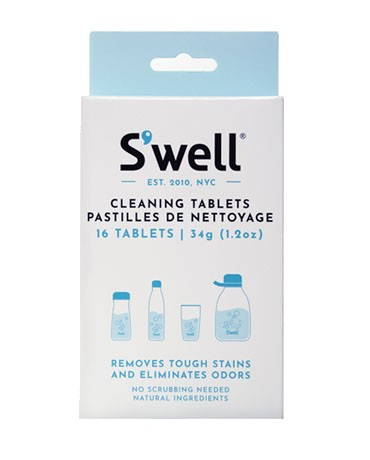 SWELL Cleaning Tablets - 16 Pack main image