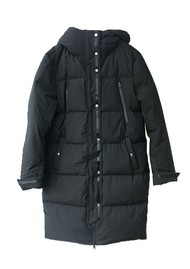 Ba&sh Sing Puffer Coat - Black
