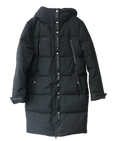 Ba&sh Sing Puffer Coat - Black main image