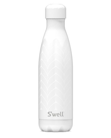 SWELL The Ritz Diamond 16oz Water Bottle - White main image