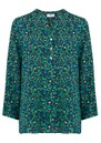 Mercy Delta Stanford Silk Blouse - Animal Electric